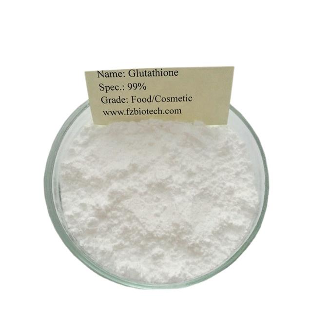 Amostra grátis Clareamento Da Pele L-Glutationa Reduzida, Baixo Preço do Produto Comestível Glutationa Pó