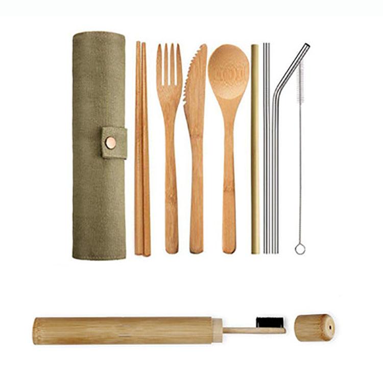 الجملة الخيزران والسكاكين مجموعة اليابانية نمط الخيزران المربى سكين شوكة للبالغين
