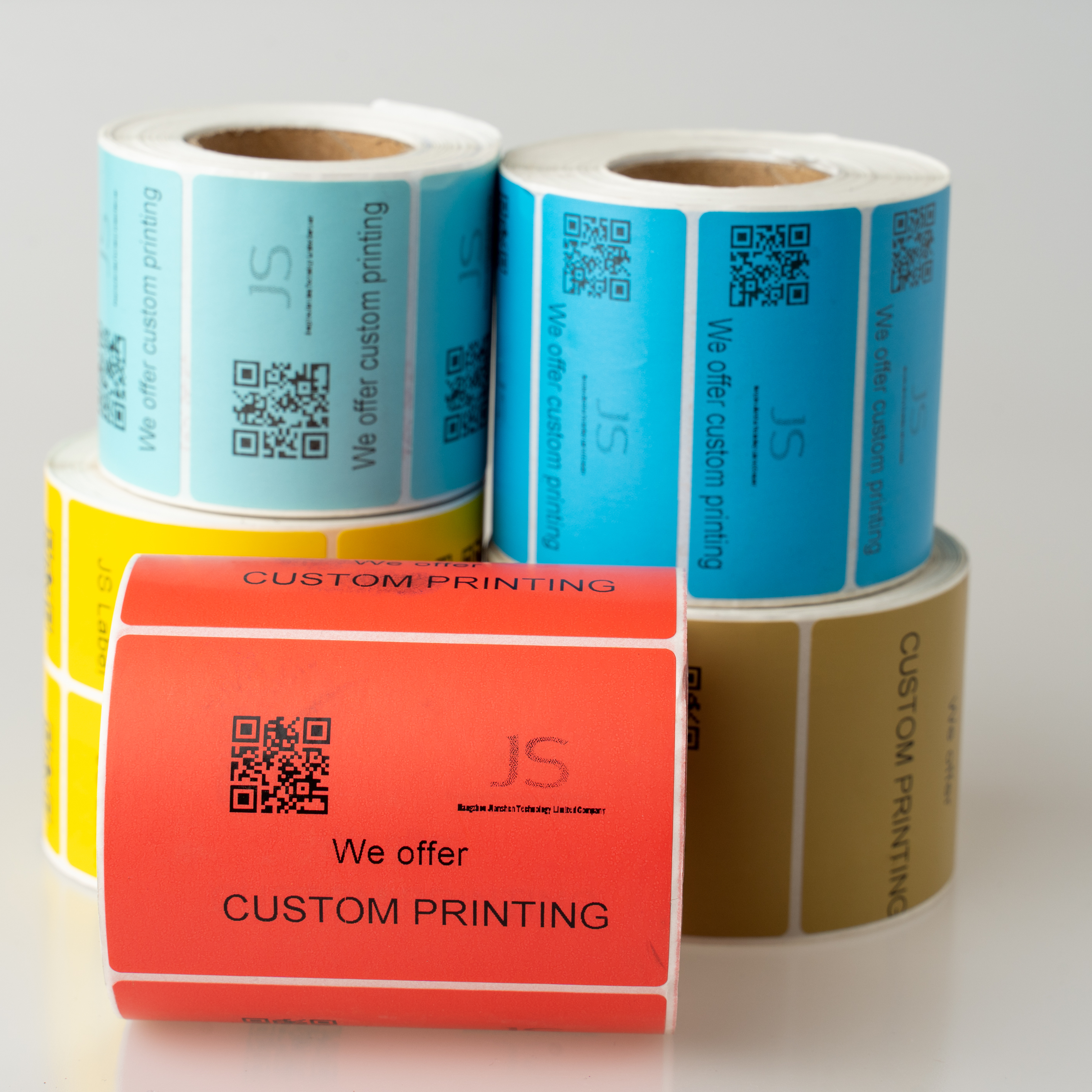 50mm*50mm Self Adhesive Direct Thermal Transfer Paper labers transparent sticker <strong>labels</strong> a4