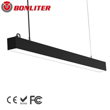 4ft 8ft 40W 60W Elefort LED lineare luce del pendente 7036 serie basso abbagliamento UGR <19 3000- 6500K 6300lm ad alta efficienza per risparmiare <span class=keywords><strong>energia</strong></span>