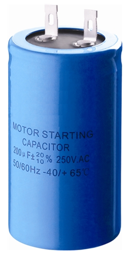 Refrigeration Compressor Spare Parts CD Series Motor  Start Capacitor For start