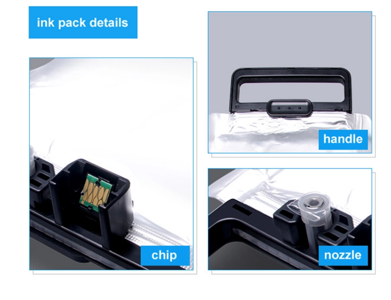 High quality compatible 4 color T9371 T9372 T9373 T9374 Ink bag For Epson WorkForce Pro WF-C869R printers
