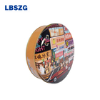 High Quality Wholesale Custom Cheap Round Cookie Tin Can Round Cans For Cookies