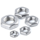 304 stainless steel hexagon thin nuts din2510 m17 a2-70 m16 nut