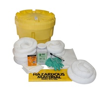 20 Gallon Overpack Salvage Emergency Lab Drum Spill Kit - Aggressive Chemical