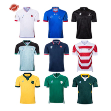 Wk 2019 Custom nieuw-zeeland league lange mouw camiseta de <span class=keywords><strong>rugby</strong></span> shirts uniform jerseys S-5XL Fiji