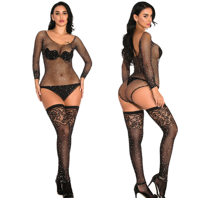 christmas diamond womens sexy lingerie
