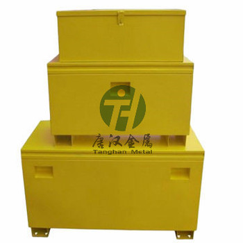 oem heavy duty portable job site metal tool box for truck