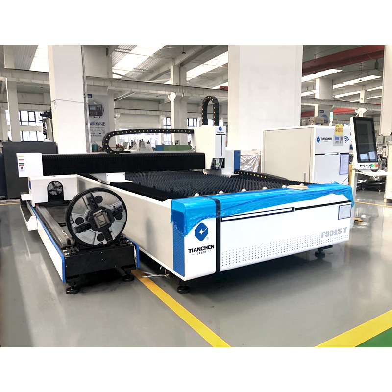 Tube and plate industry Metal Pipe Tube Sheet Plate Fiber Laser Cutting Machine With Max Laser
