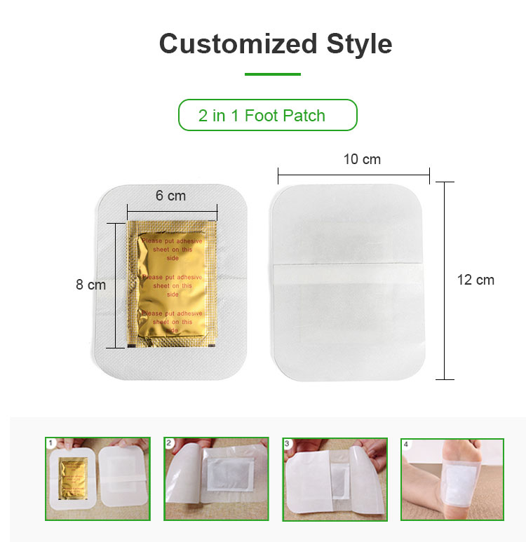 Factory Supplying health broadcast detox foot patches