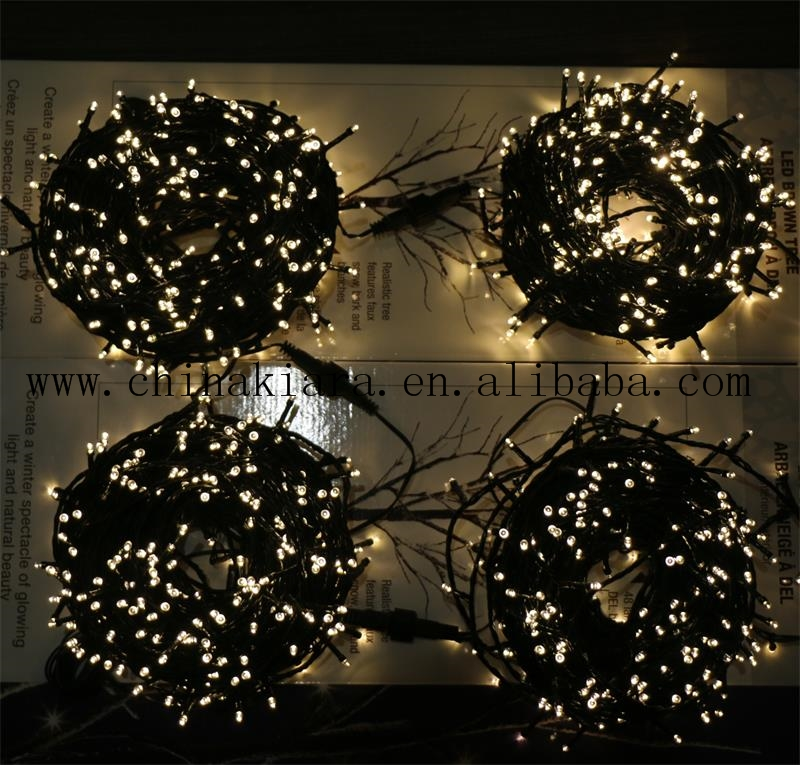 Christmas Lights 300 LED 105Ft   30m Warm White Indoor/Outdoor Fairy Lights String Tree Lights