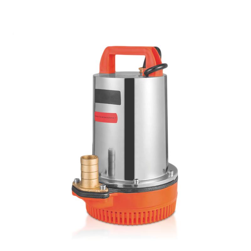Sıcak satış 12V 160W dc cooper motor su pompası taşınabilir dc güneş pompa 12v dc mini su pompa dalgıç