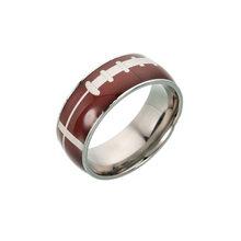 2019 титановая сталь баскетбольное кольцо мужские футбольные украшения кольца пара обручальных колец женские индивидуальные кольца пара сп...(Китай)