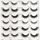 Eyelashes Eyelashes Vendors Baby Bonita Wholesale Free Sample Customized Packaging Boxes Private Label 3d Faux Mink Eyelashes Vendors