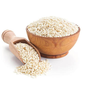 Preservative Free, Non-GMO Natural White Sesame Seeds