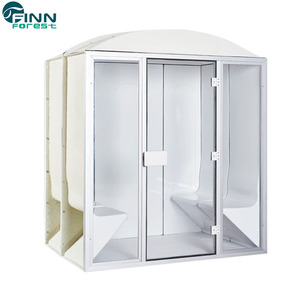Ideal steam room bath finnish sauna kits