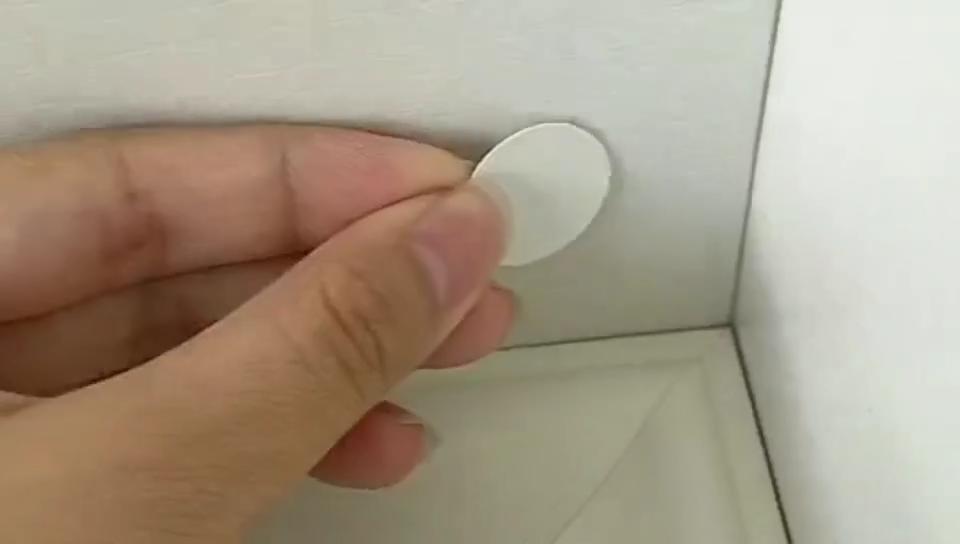 2019 गर्म बेच पीवीसी पेंच FastCap चिपकने वाला पेंच कवर, स्वयं चिपकने वाला fastcap फर्नीचर पेंच को शामिल किया गया शामिल किया गया