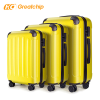 360 degree travel suitcase luggage bag sets cart luggage 28 inch