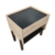 Multifunctional bedroom furniture bedside organizer small wooden storage cabinets for home