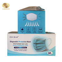 China face mask supplier manufacturer 3 ply face mask earloop