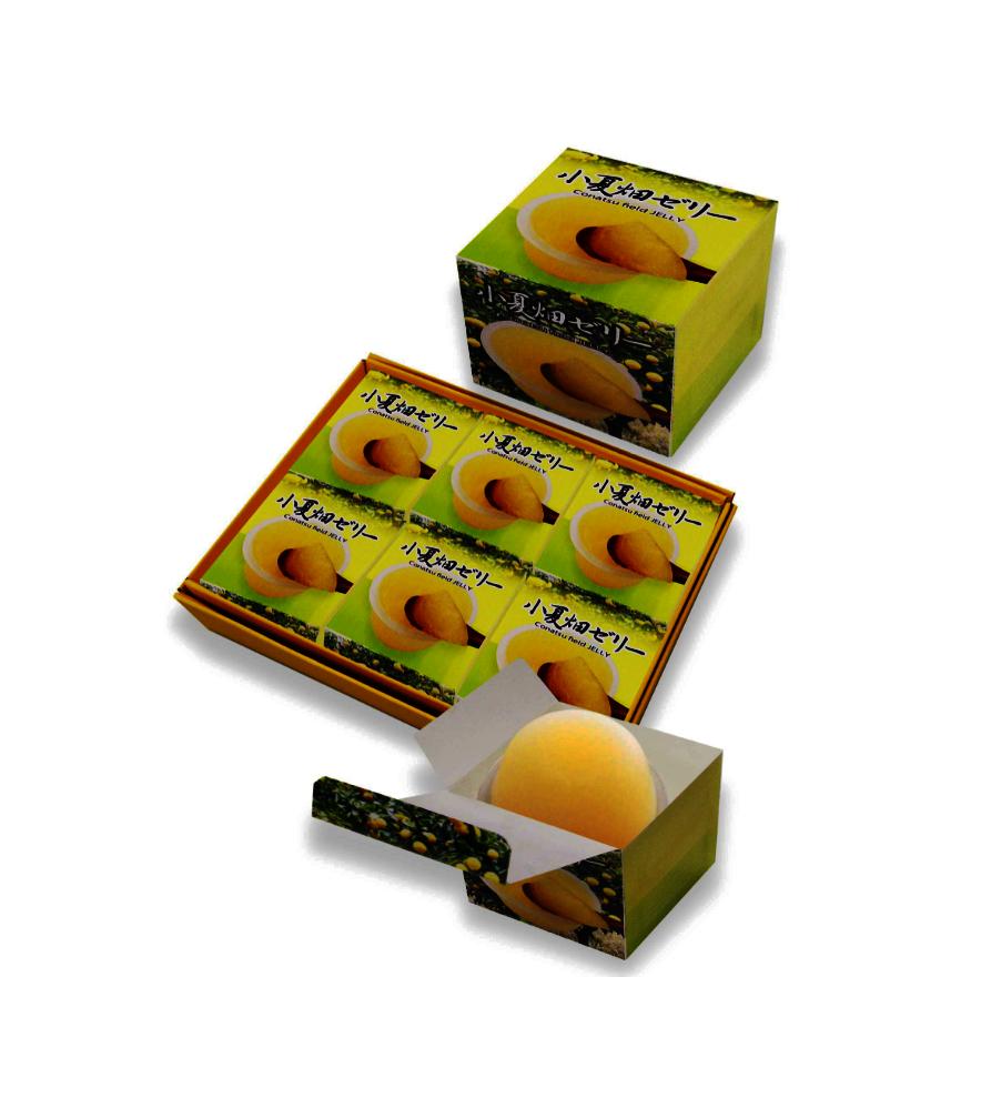 Japanese konstu batake box sweet jelly children custom snacks
