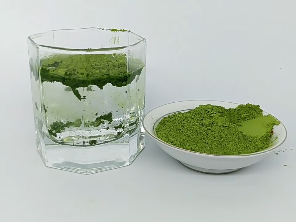 En kaliteli YEŞİL ÇAY ince yeşil çay tozu Matcha toptan