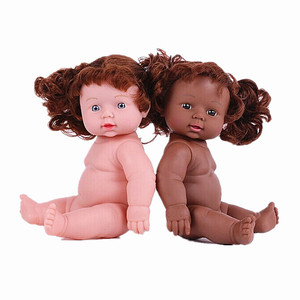 Vinyl lifelike newborn black baby dolls reborn 26 inch african girl doll wholesale custom plastic cheap small mini alive doll