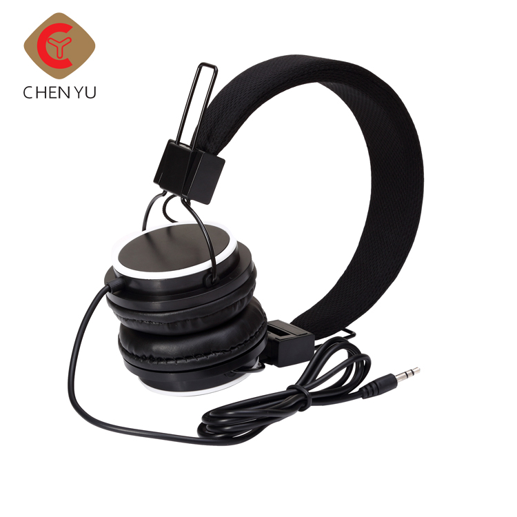 Wired Hearing Protect Over Ear Headphones,Stereo Soft Headband Volume Limiting Headphones Headsets