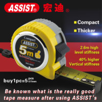 economic MID II metric blade ABS case retractable tape measure for industrial use