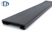 EPDM/SILICONE waterproof  l shape flat rubber seal strip