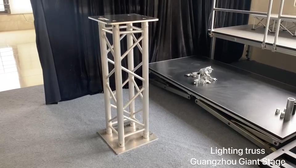 Quick build stage trusses , aluminum stage truss system