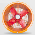 14 Inches Industrial Ventilation Fan Hand-Held Portable Axial Flow Fan 220V 550W Industrial Marine Mobile Ventilation Machine