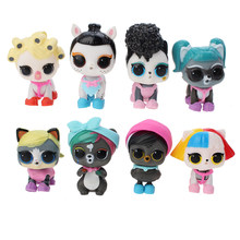 Л. О. Л. Сюрприз! Оригинальные куклы lol сюрприз красивые волосы куклы 5 поколение DIY Ручная глухая коробка модная модель кукла игрушка подарок(Китай)
