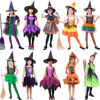 In stock witch devil kids halloween costume