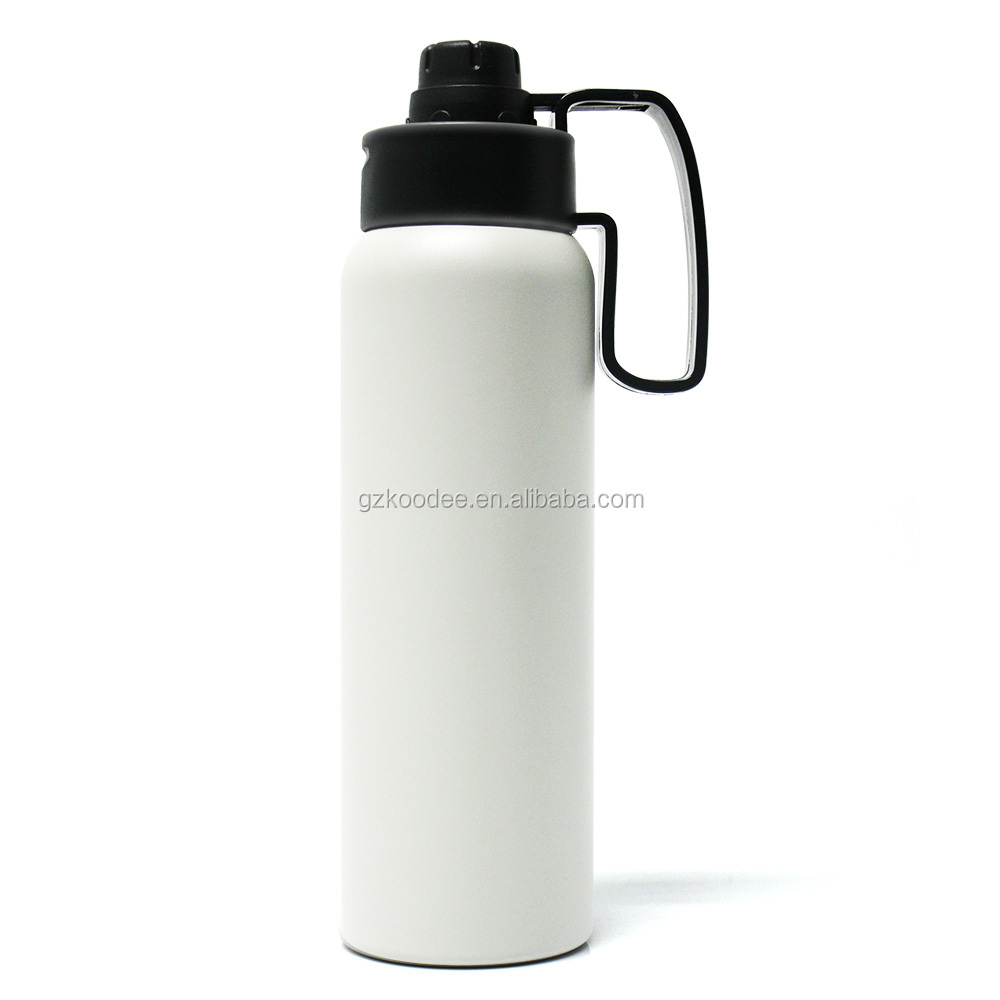 Hot Sale Style Double Wall  Stainless Steel Vacuum Flask with Straw filter