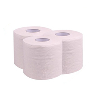 Factory Private Label Soft Virgin Wood Pulp Embossed 2-4 ply toilet paper with Individual Wrapper