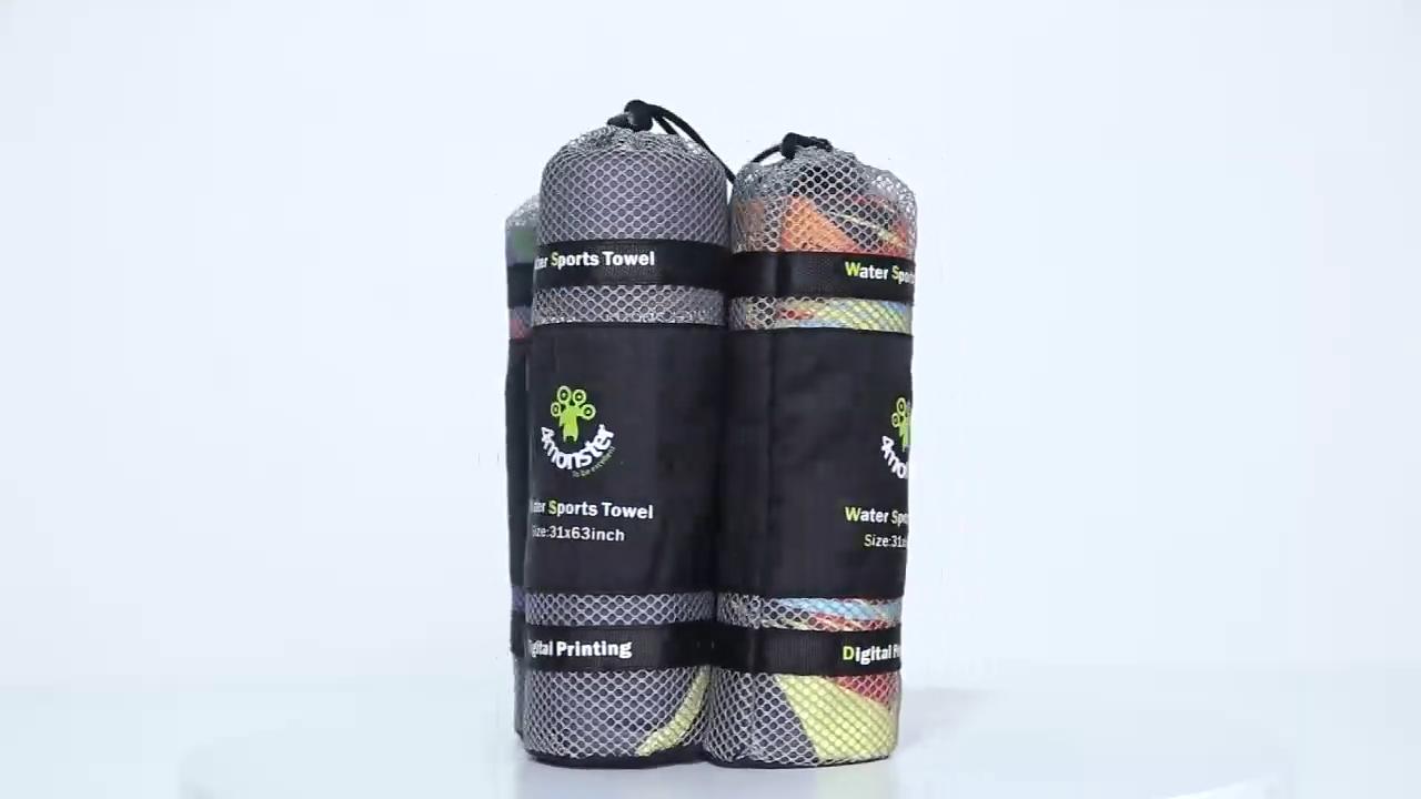 Di alta qualità assorbente quick dry sport asciugamano in microfibra private label