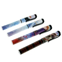 MONOGRAM COOL MULTI COLOR PVC ABS INK STATIONERY GIFT SCHOOL OFFICE DISNEY FROZEN PEN BALLPOINT