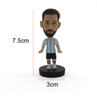 Bobble Custom Soccer Player Bobble Head Of Resin Crafts