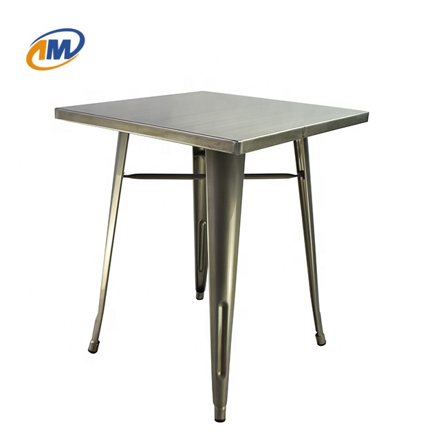 Modern To**x Style Metal Iron Steel <strong>Square</strong> <strong>Dining</strong> Room <strong>Table</strong> Designs