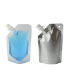 Wholesale Clear Stand Up Spout Pouch Plastic Packaging Printing Spout Pouches for Wine/water/oil/liquid
