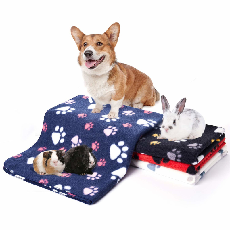 Breathable Pet Cat Blanket Soft Warm Fleece Mat <strong>Bed</strong> Cover dog blanket