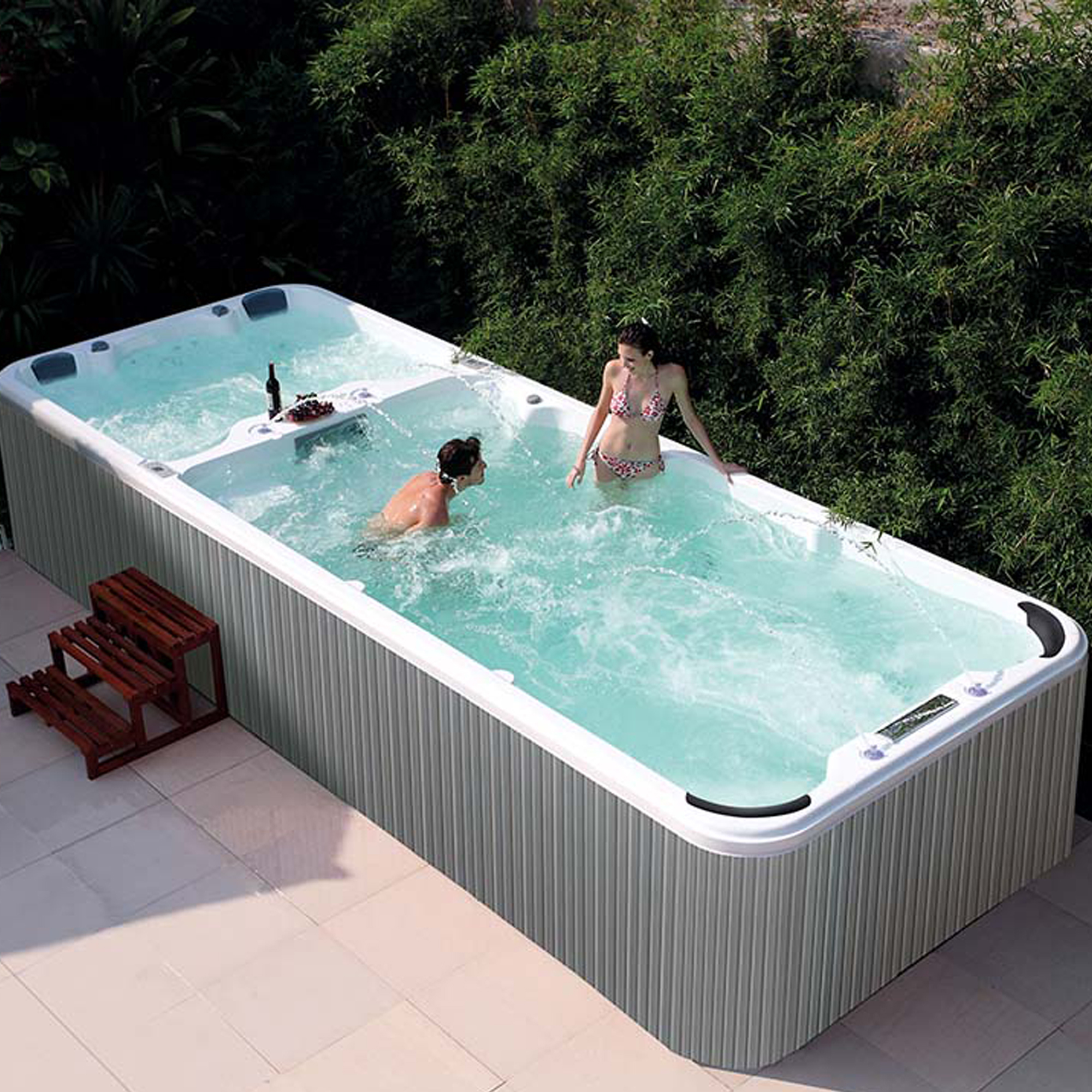 Cheap Hot Tub Endless Hydro Swim Spa Hydro Massage Hydrotherapy
