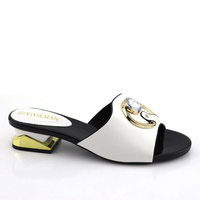 summer wholesale ladies fashion african pu leather shoes for party s200103
