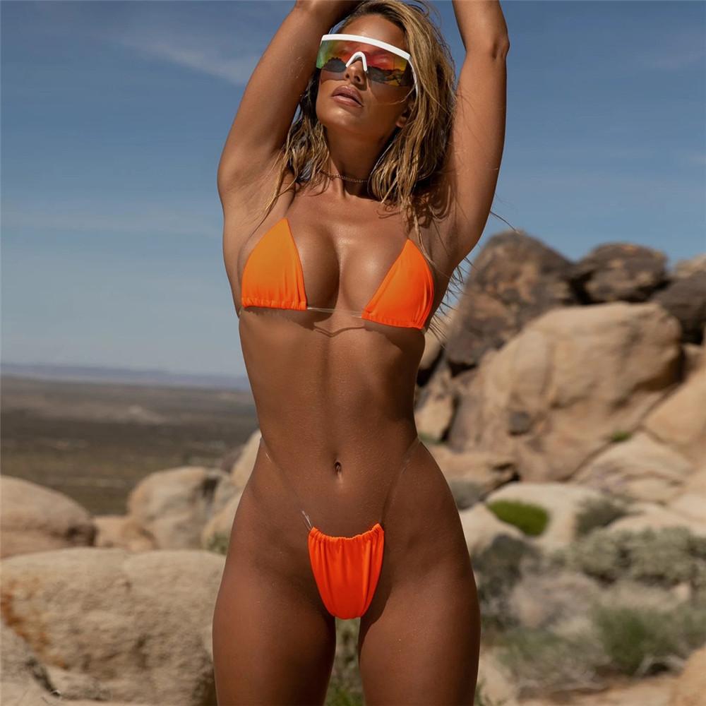 Transparent Micro Bikini Neuesten Damen Sexy Extreme Bikinis Frauen Bademode