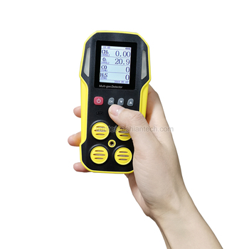 4 Gas Monitor, SA-M203 Portable Multi Gas Detector 4 Gas(CO, H2S, O2 and combustibles)
