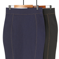 Classic plus size sexy ladies bag hip short mini elastic denim wrap hip skirt