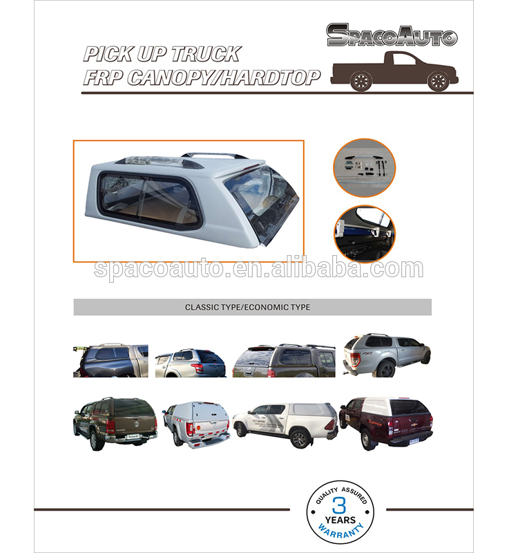 Pickup Truck Ranger Hardtop Canopy for Ford