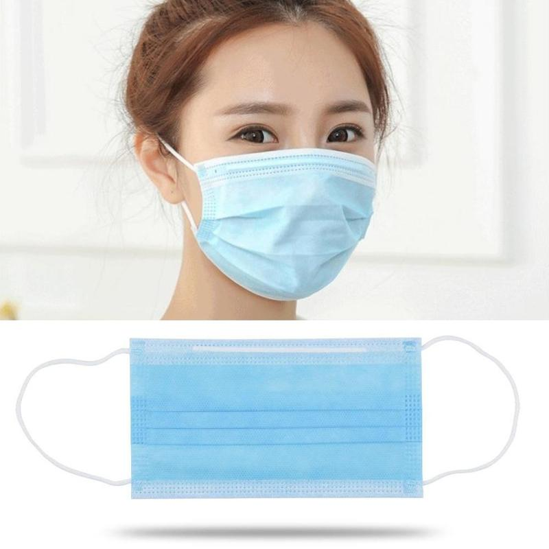 Medical filter Melt-blown fabric protective disposable face mask