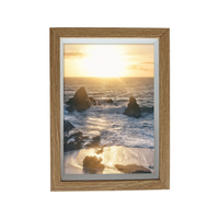"wooden picture photo frame - 8"" x 10"""